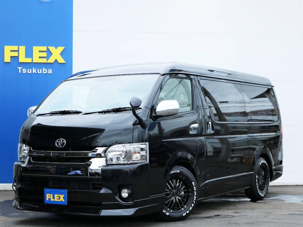 新車ハイエースVスーパーGL5人乗り2WDディーゼル車!特別仕様車ダークプライム2!