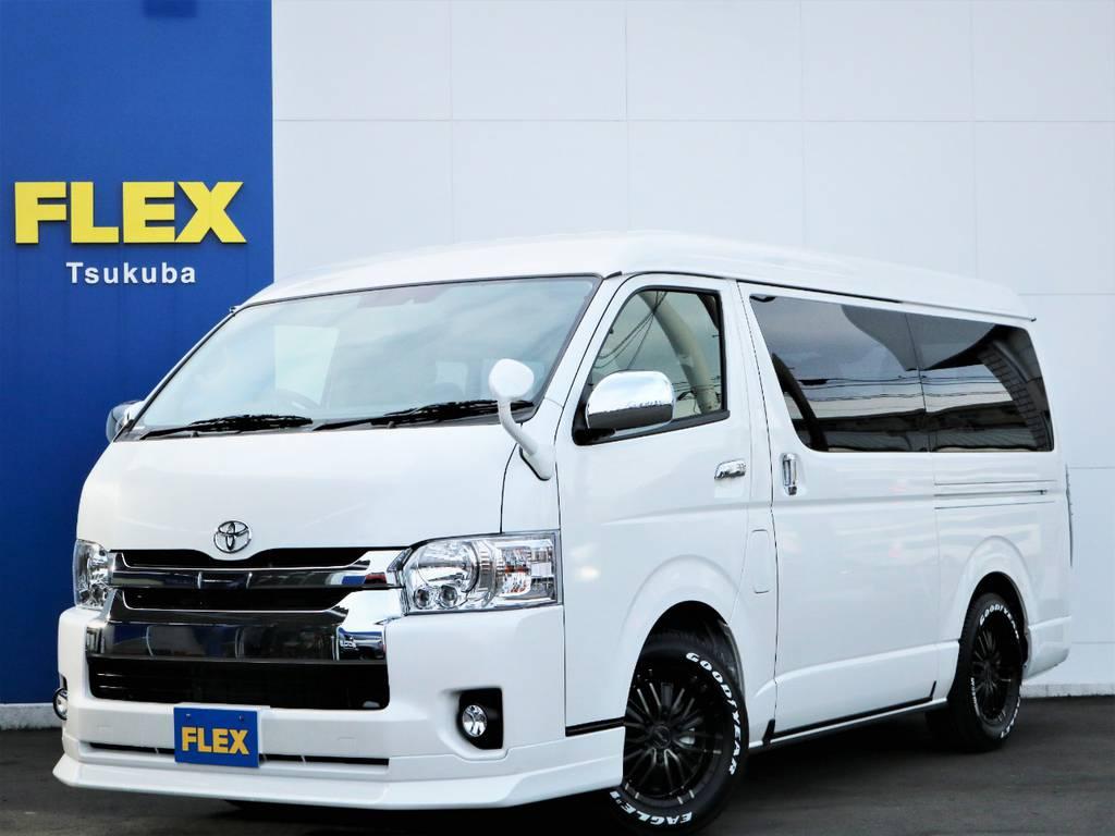 新車ハイエースW「GL」10人乗り4WDガソリン車!内装アレンジVER2が完成!