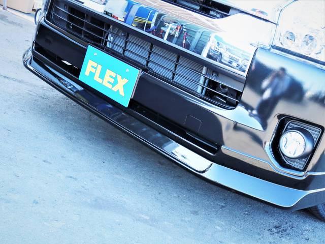 FLEXオリジナルデルフィーノラインフロントスポイラー!