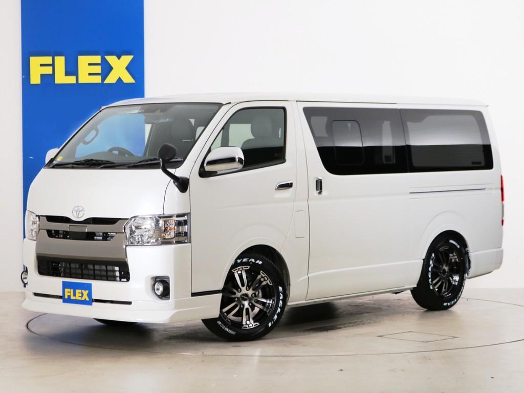 新車未登録 ハイエースバン S-GL DPⅡ DT2WD FLEXオリジナル内装アレンジ【アレンジFU-N】!