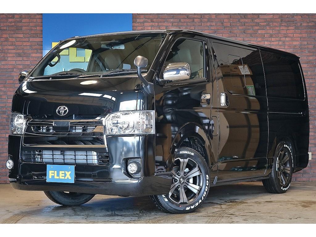 【新車未登録 ハイエースバン ダークプライムⅡ S-GL 4WD】ランクルハイエース石川店076-274-6002までお気軽にお問い合わせください!