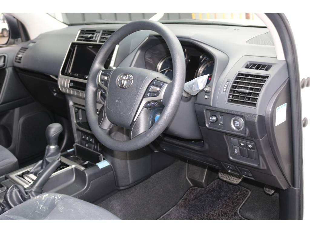 トヨタセーフティーセンスP標準装備で安全に快適に運転が可能です☆