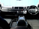 ブラックウッドインテリア&ブラックレザー調シートカバーで高級感を演出!!
