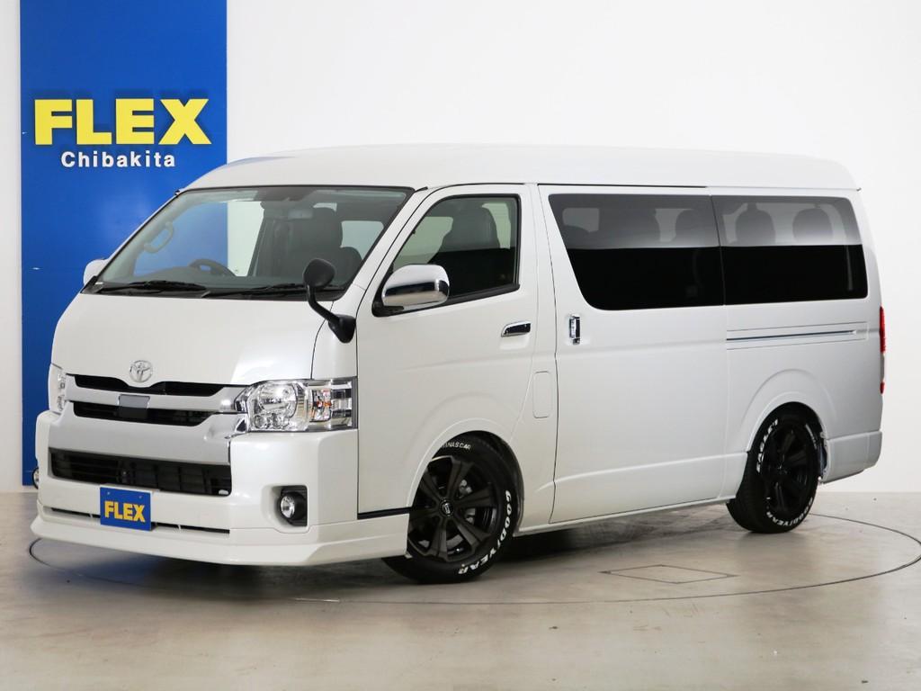 新車未登録 ハイエースワゴンGL ガソリン2WD FLEXオリジナル内装アレンジ【Ver10】!
