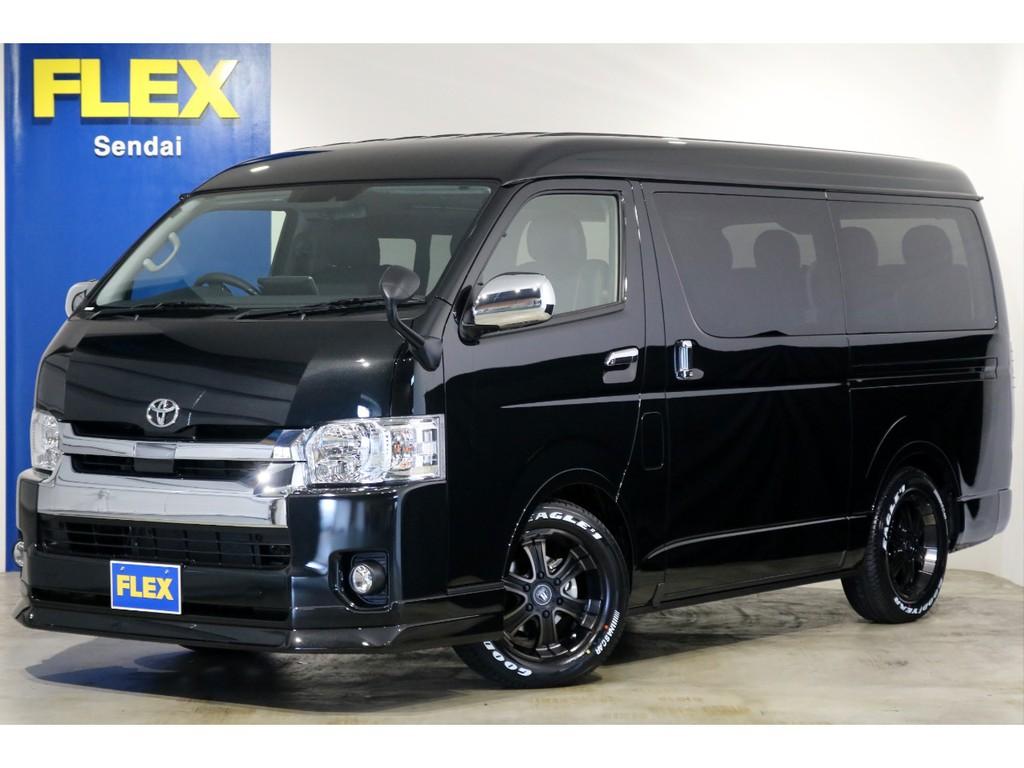 ワゴンGL 4WD 寒冷地仕様 トヨタ・セーフティ・センス搭載!FLEXオリジナル内装架装「アレンジR1」!