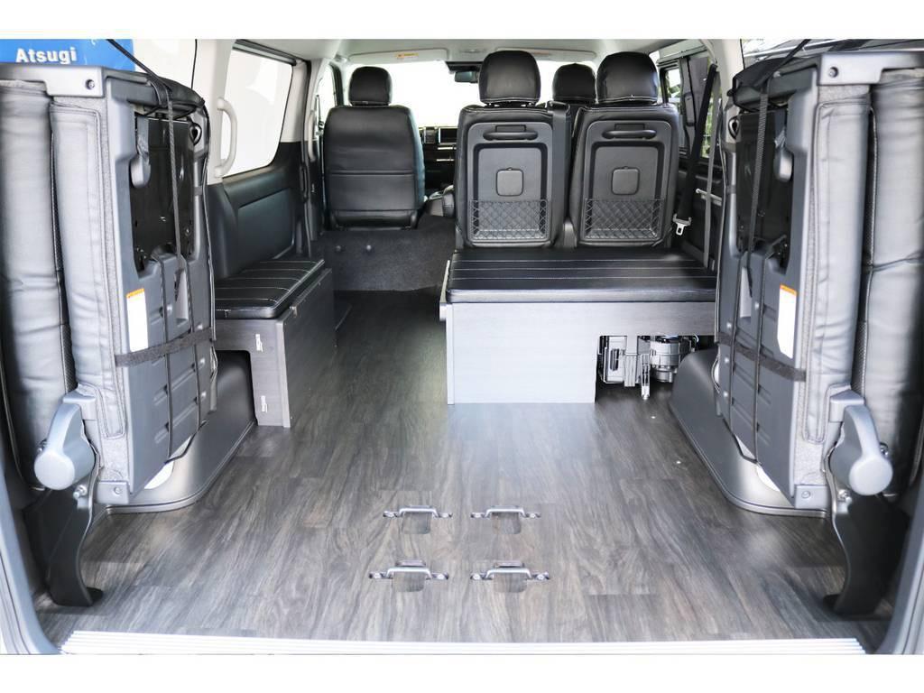広大な荷室スペース!大きなお荷物やご趣味にも大活躍します!