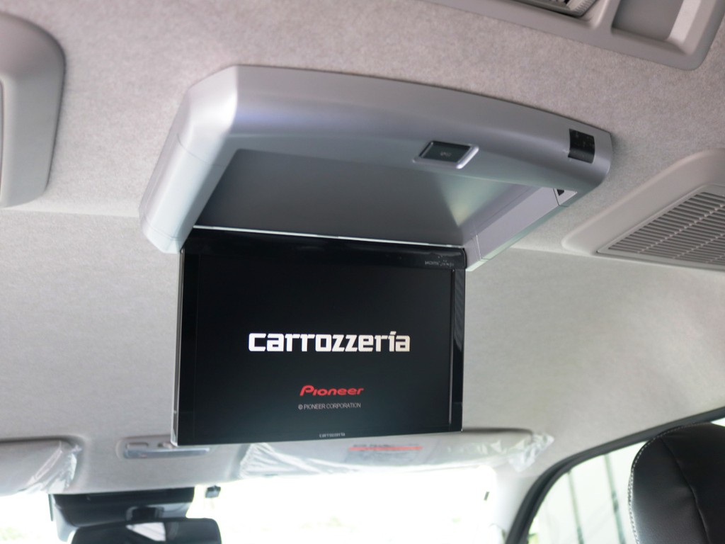 カロッツェリア 10.2型 フリップダウンモニター!