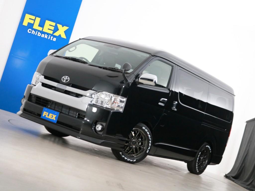 新車未登録 ハイエースワゴンGL ガソリン2WD 10人乗り3ナンバー登録 FLEXオリジナル内装アレンジ【Ver2】!