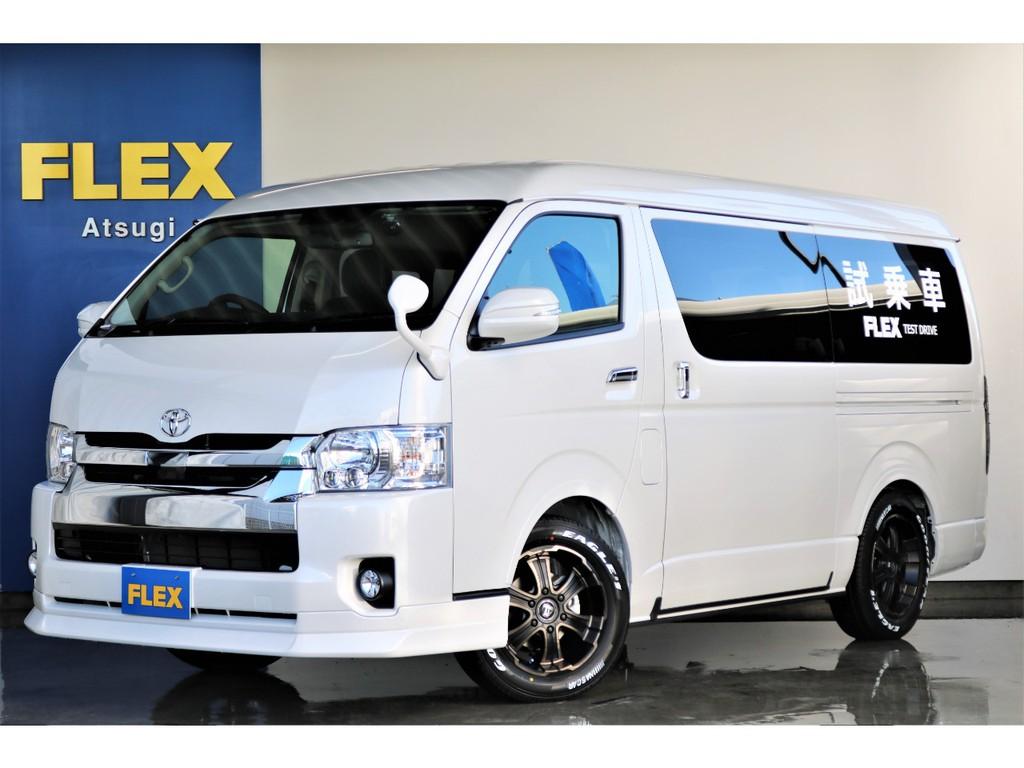 【新型シートアレンジ試乗車】ハイエース ワゴンGL 2.7Lガソリン4WD