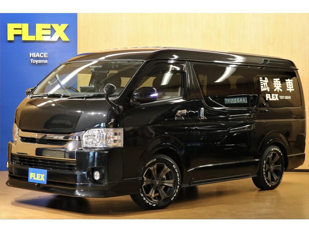 【R2年式/当店試乗車】ハイエース ワゴンGL 4WD TSS付き FLEXオリジナル内装架装Ver.1♪