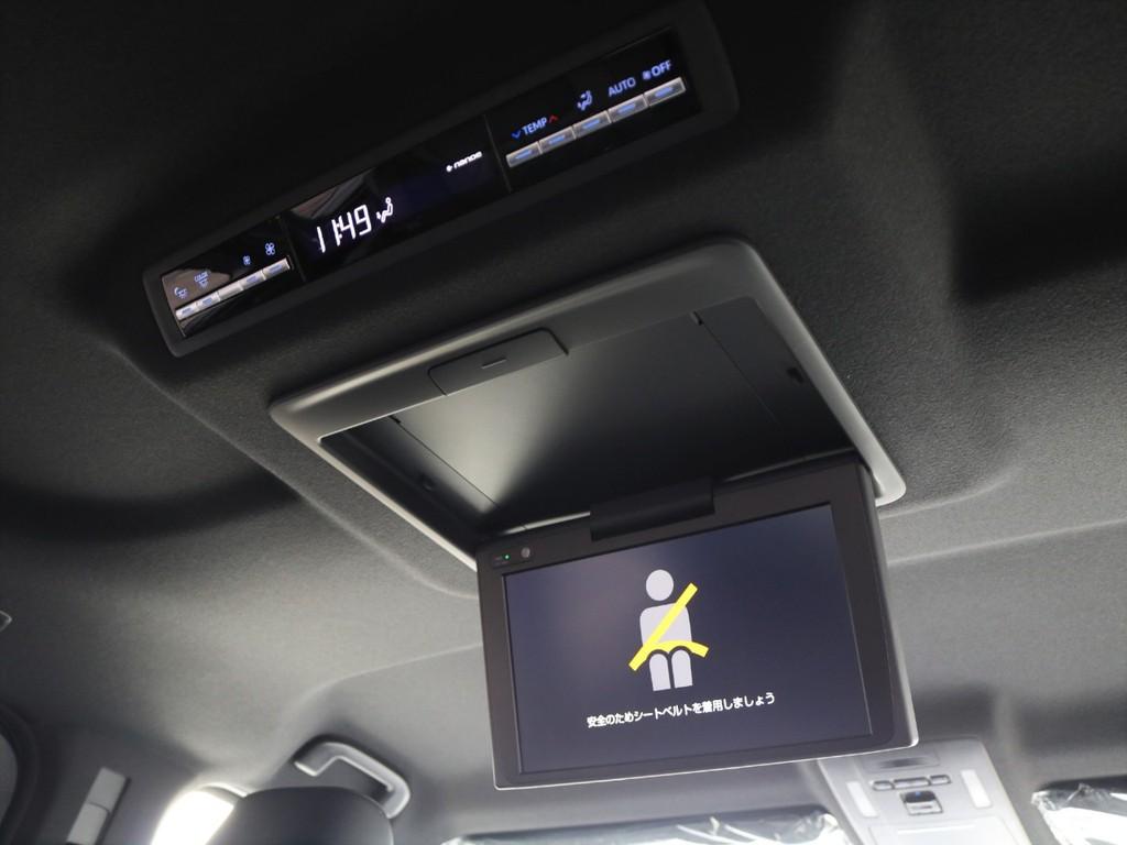 ディーラーオプション12.1型後席ディスプレイを装備!