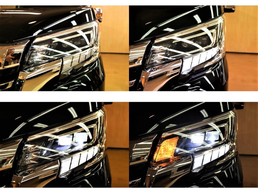 【LEDヘッドランプ】視認性抜群のオートレベリング機能付き2眼LEDヘッドランプ(Hiビーム/Loビーム)♪