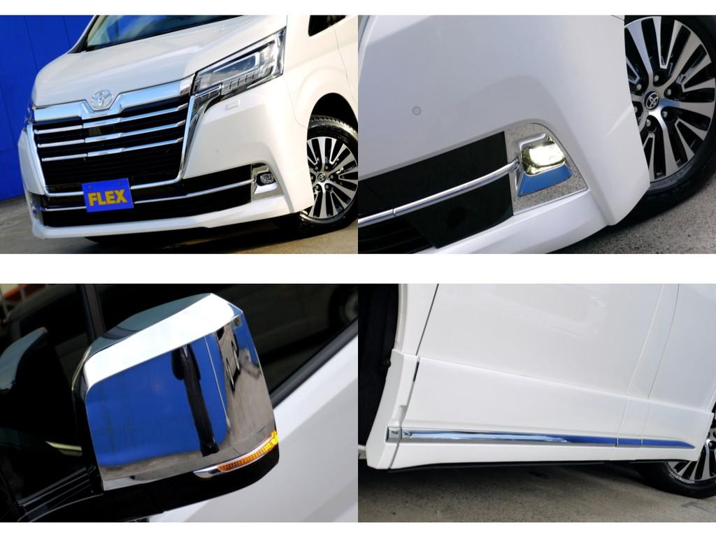 LEDフォグやドアミラーウインカー標準装備!!