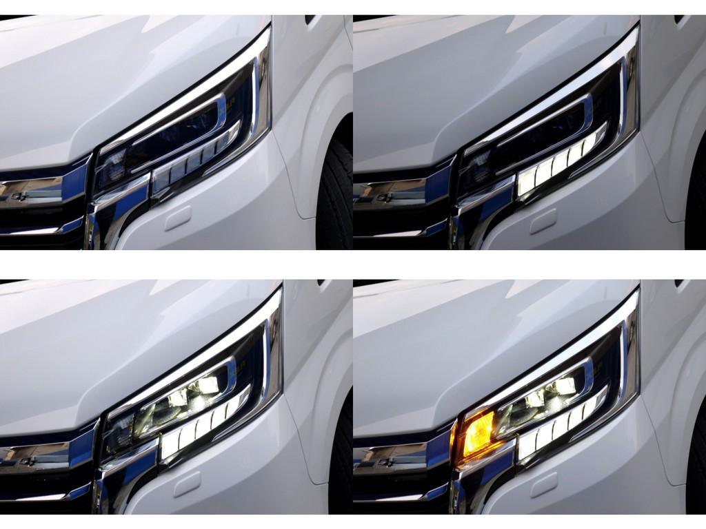 2眼LEDヘッドライト標準装備!!