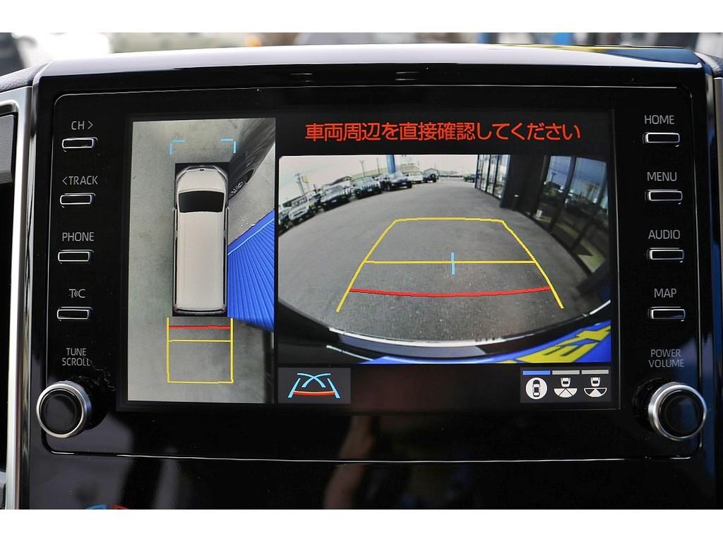 パノラマミックビューモニター採用で駐車も安心です!