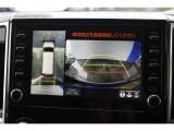 バックカメラのみならずお車の外周全てを映すパノラミックビューまでも搭載!