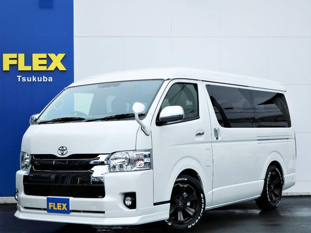 新車ハイエースW「GL」10人乗り2WDガソリン車!ライトカスタム!