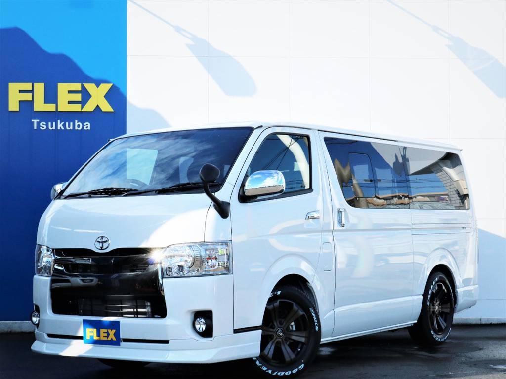 新車ハイエースVスーパーGL5人乗り2WDガソリン車!特別仕様車ダークプライム2!