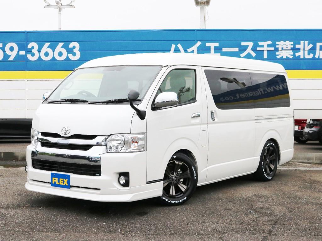 新車未登録 ハイエースワゴンGL ガソリン2WD FLEXオリジナル内装アレンジ【Ver1】!