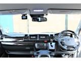 フロントはツインモニター&ドライブレコーダー搭載!