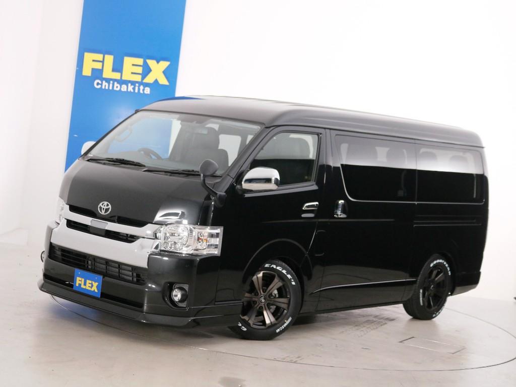 新車未登録 ハイエースワゴンGL ガソリン2WD 10人乗り3ナンバー登録 FLEXオリジナル内装アレンジ【Ver1】!