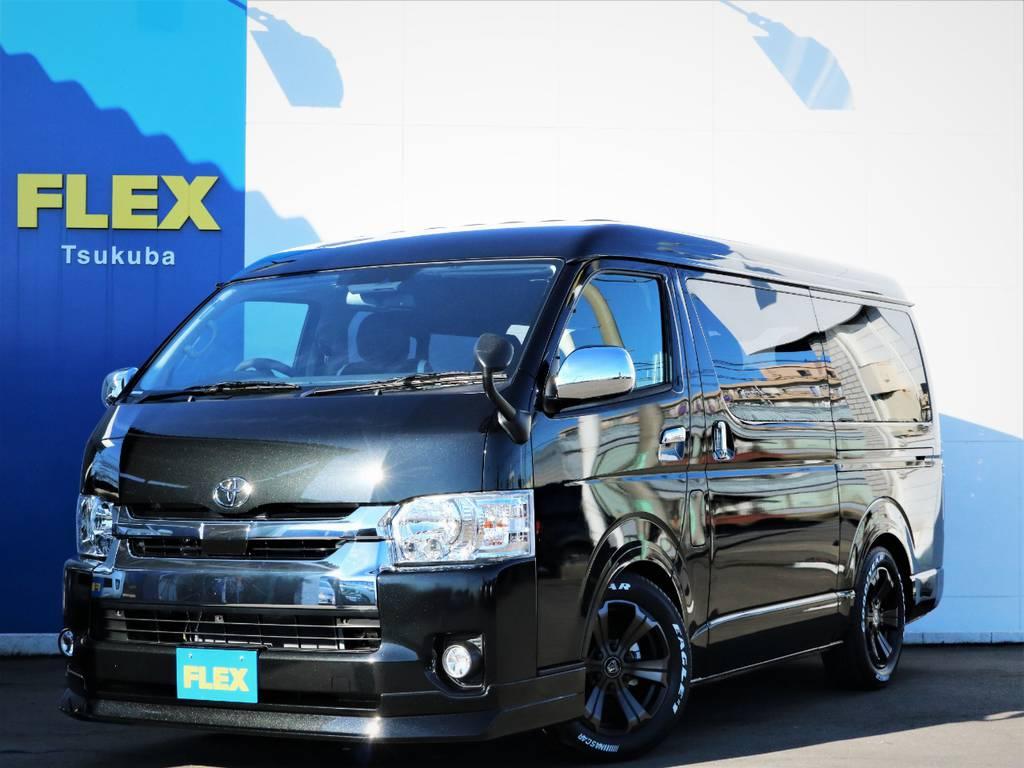 新車ハイエースW「GL」10人乗り2WDガソリン車、ライトカスタムが完成致しました!