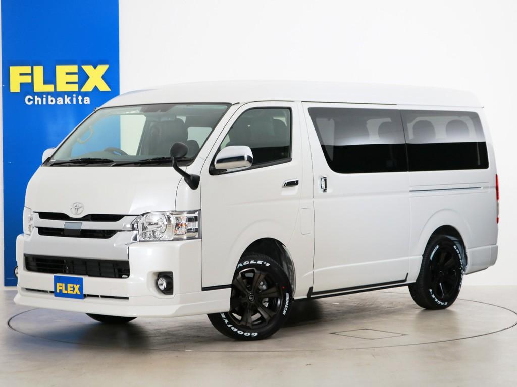 新車未登録 ハイエースワゴンGL ガソリン4WD FLEXオリジナル内装アレンジ【Ver1】!