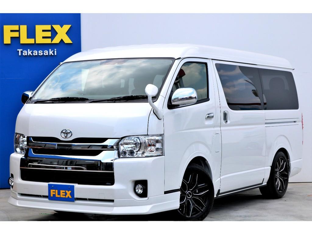 新車 ワゴンGL 4WD 寒冷地仕様 トヨタ・セーフティ・センス搭載!FLEXオリジナル内装架装「Ver1」!