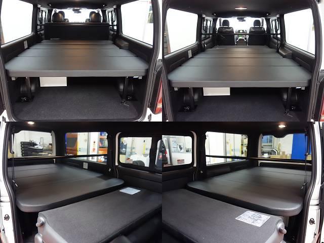 新車ハイエースVダークプライムⅡナビベットKITパッケージ完成致しました!!即納車可能になります!!