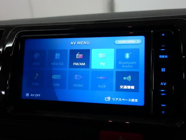 新車ハイエースVダークプライムⅡガンメタナビパッケージ完成致しました!!即納車可能になります!!