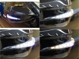 【AVEST製シーケンシャルドアミラーウィンカー装着済】デイライト・シーケンシャルウィンカー・ウェルカムランプ機能付き
