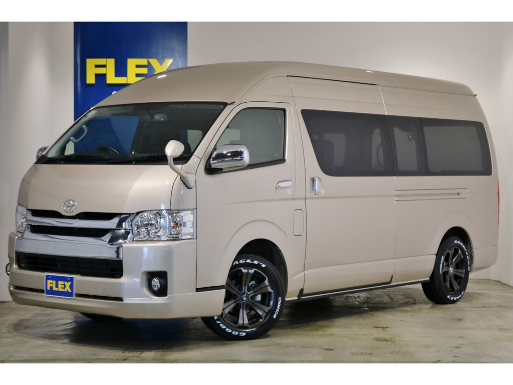 【新車 コミューター 4WD ガソリン キャンピングカー】COMCAN フレックスカスタム!