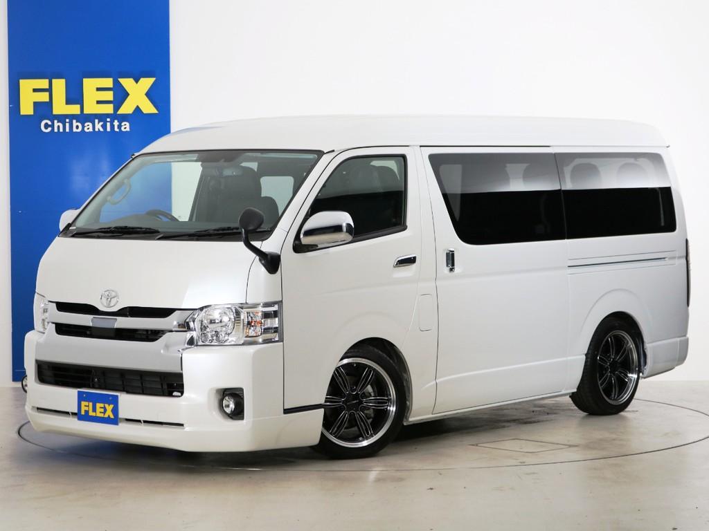新車未登録 ハイエースワゴンGL ガソリン2WD FLEXオリジナル内装アレンジ【アレンジR1】!