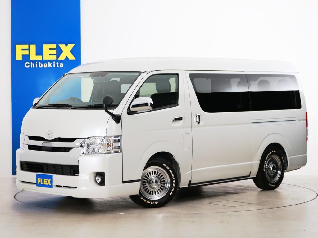 新車未登録 ハイエースワゴンGL ガソリン4WD 内装アレンジ【アレンジA-S】!