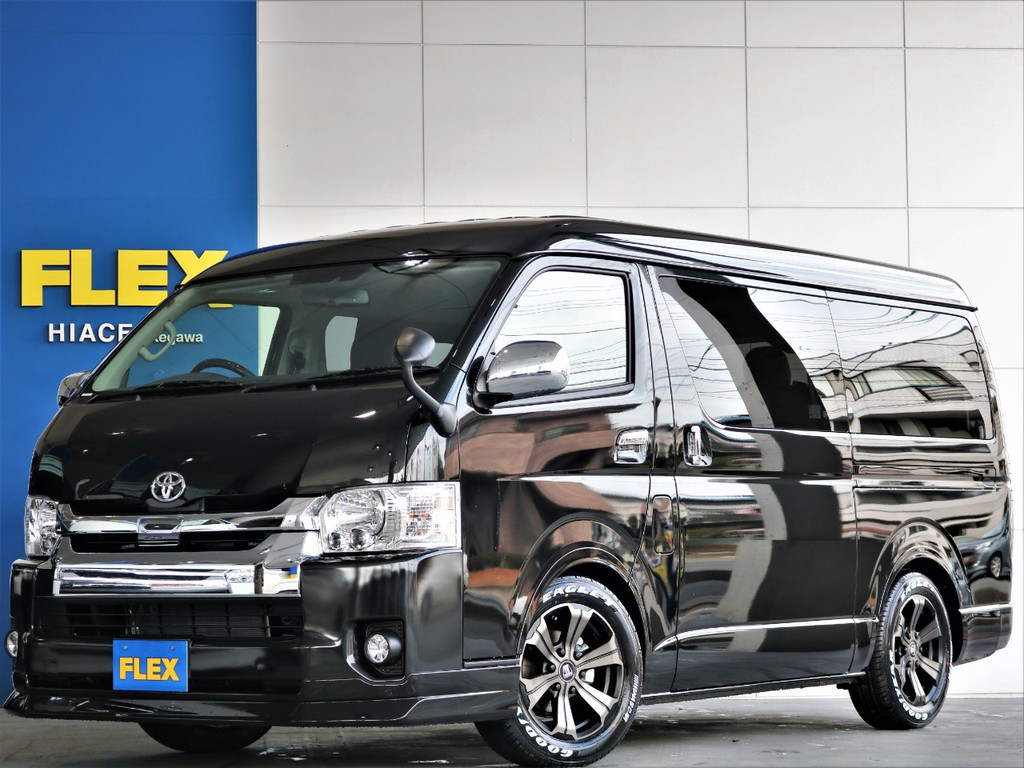 【新車】ハイエースワゴンGL 人気のファミリーパッケージ 使い勝手の良いパーツが盛りだくさん!!定番のスタンダートモデルです♪即納車可能!