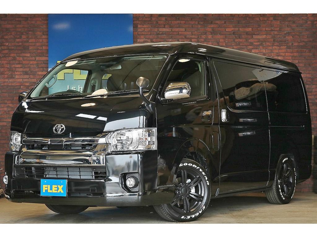 【新車未登録 ハイエースワゴン GL 4WD】ランクルハイエース石川店076-274-6002までお気軽にお問い合わせ下さい!