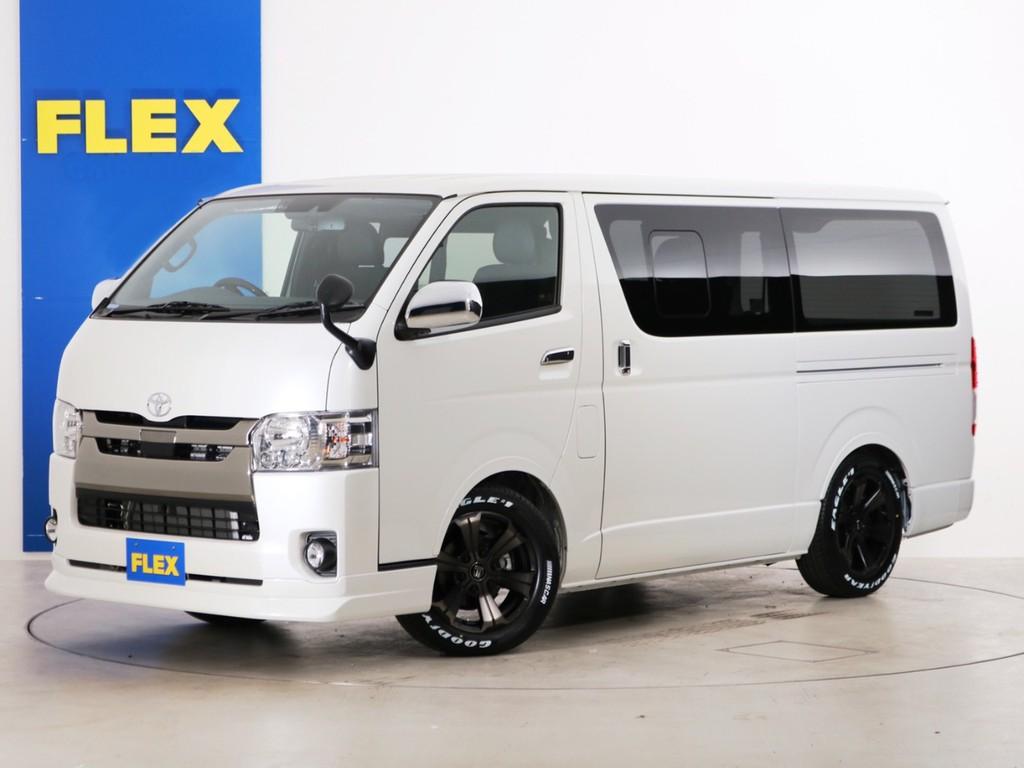 新車未登録 ハイエースバン S-GL DPⅡ DT2WD FLEXオリジナル内装アレンジ【Ver4】!