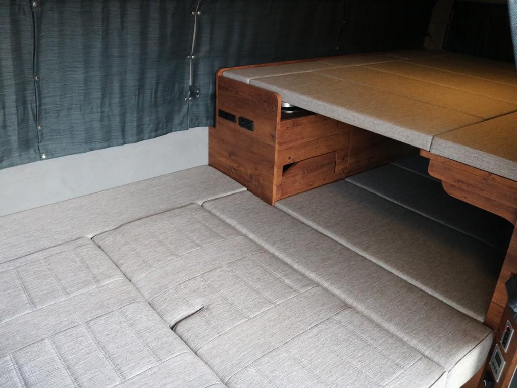 広いベッドスペース☆