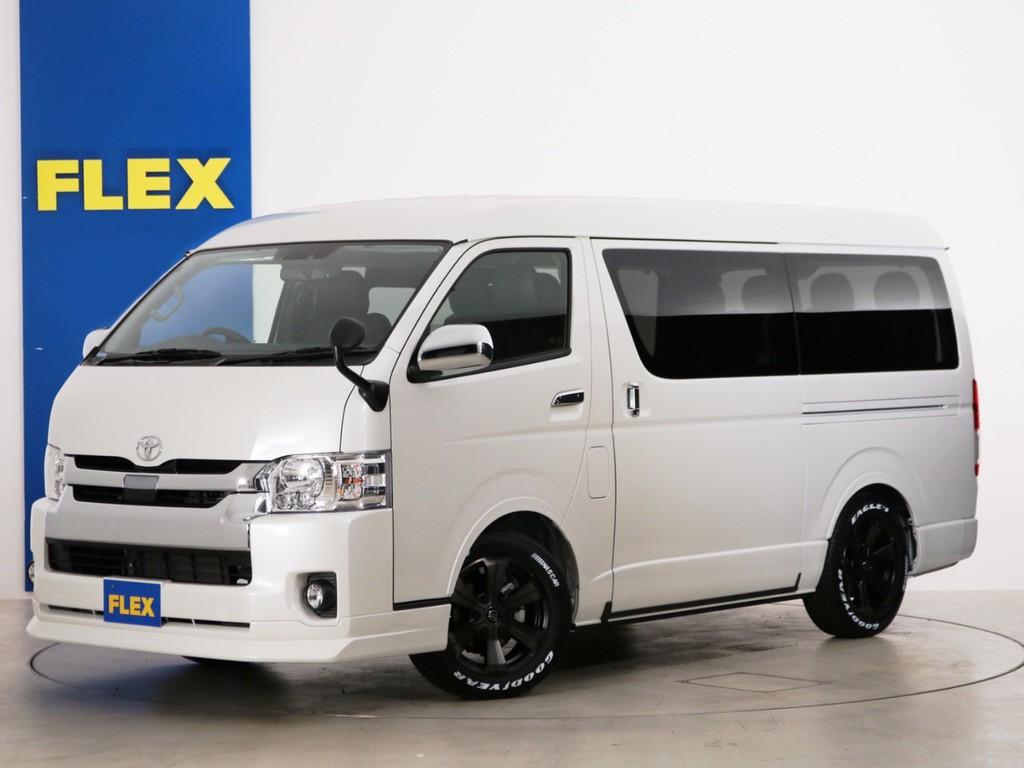 新車未登録 ハイエースワゴンGL ガソリン4WD FLEX内装アレンジ【アレンジR1】!