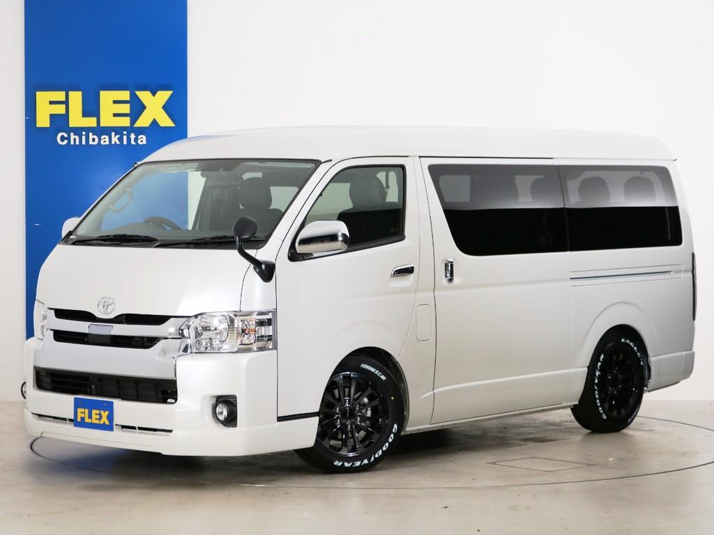 新車未登録 ハイエースワゴンGL ガソリン2WD FLEX内装アレンジ【Ver2】!