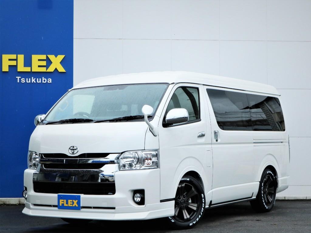 新車ハイエースW「GL」10人乗り4WDガソリン車!内装アレンジVER1が完成!