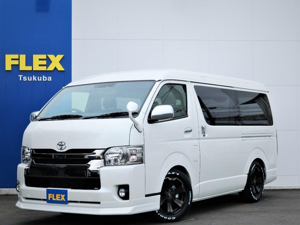 新車ハイエースVスーパーGL5人乗り2WDディーゼル!特別仕様車ダークプライムが入庫!
