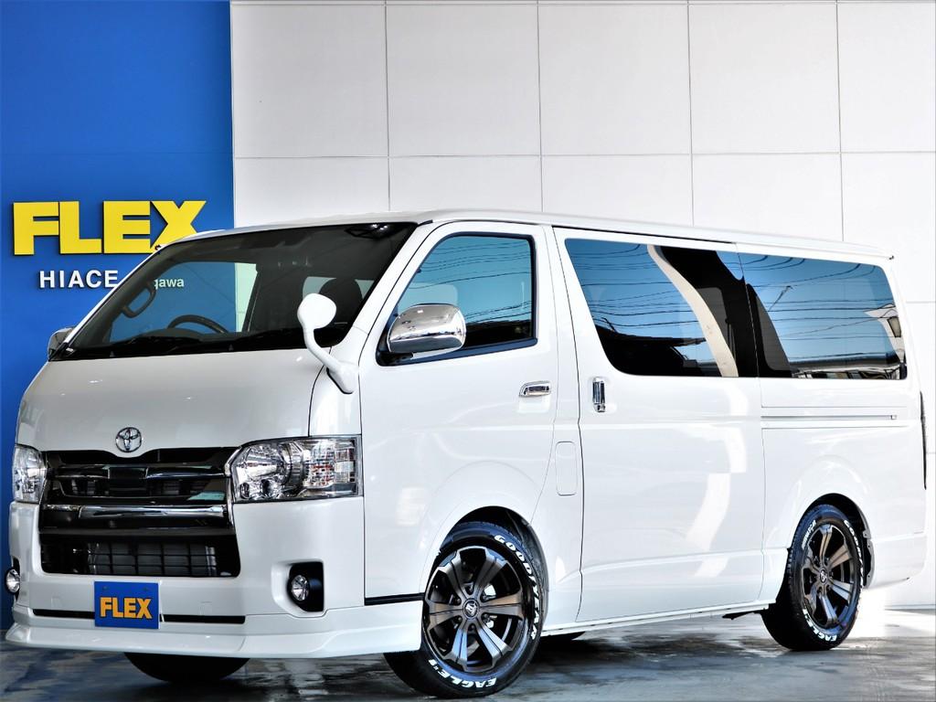 新車 ハイエースS-GL ダークプライムⅡ ガソリン2WD 人気のベッドキット付き パワースライド 即納車可能 オートローン120回まで可能☆