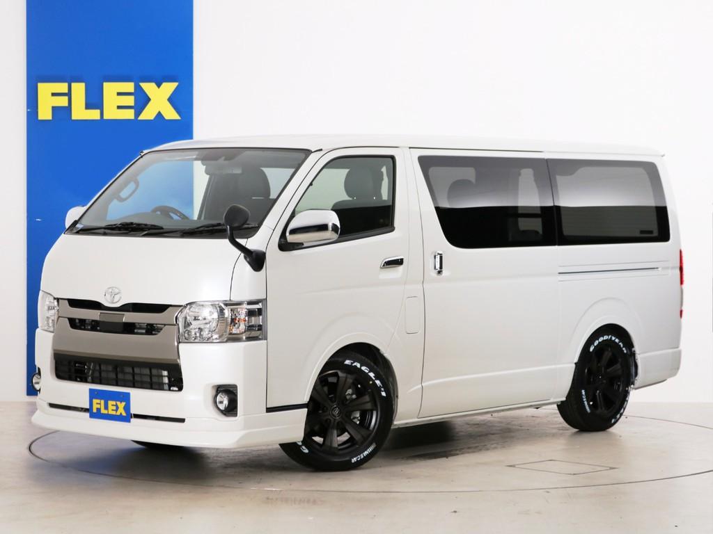 新車未登録 ハイエースバン S-GL DPⅡ ガソリン2WD ベッドカスタムPKG!