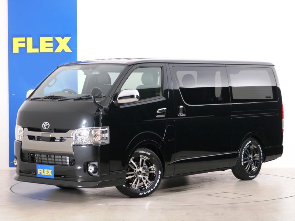 新車未登録 ハイエースバン S-GL DPⅡ ガソリン2WD 床張りカスタムPKG!