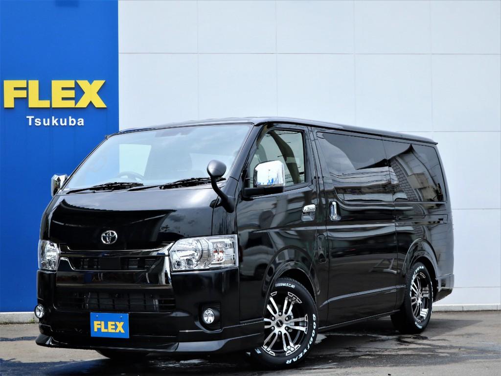 新車ハイエースVスーパーGL2WDディーゼル特別仕様車ダークプライム2、安全装備に優れた新型が入庫!