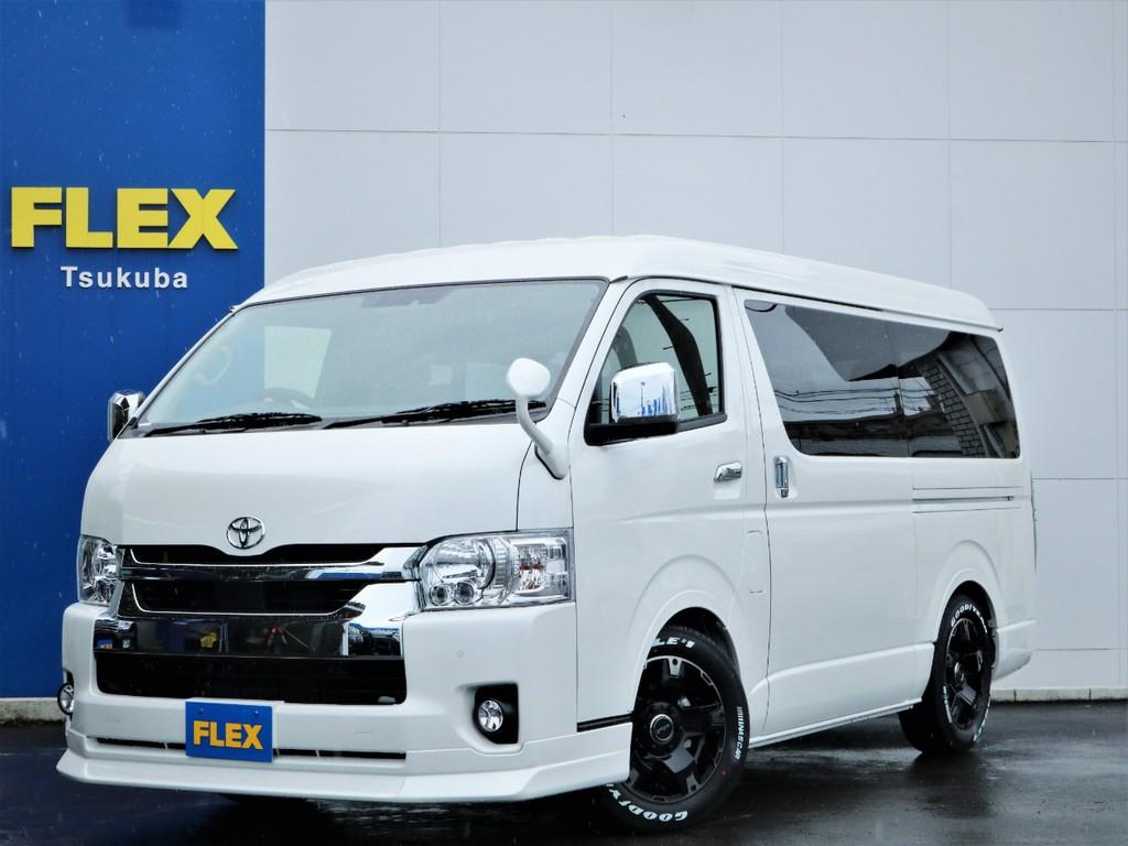 新車ハイエースW「GL」10人乗り2WDガソリン車!安全装備に優れた新型モデルが完成!