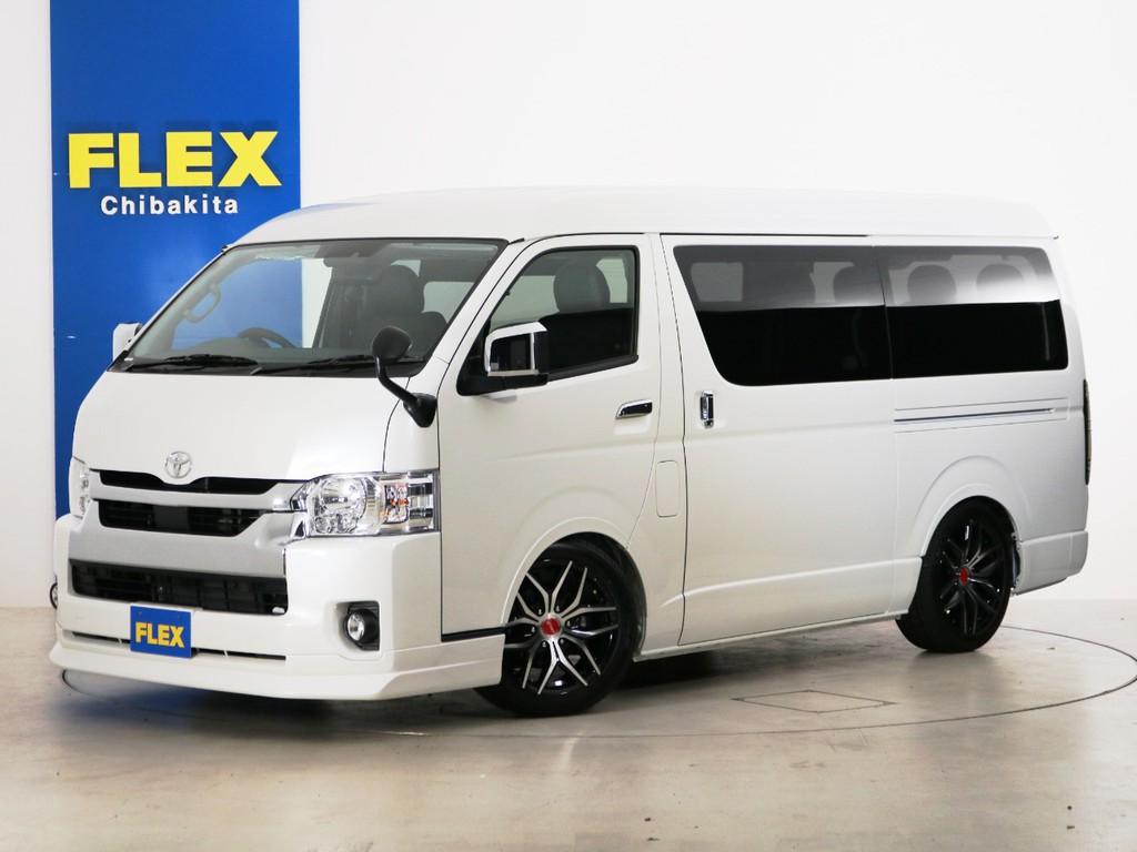 新車未登録 ハイエースワゴンGL 一部改良後 【新型】 ガソリン2WD FLEX内装アレンジ【Ver2】!