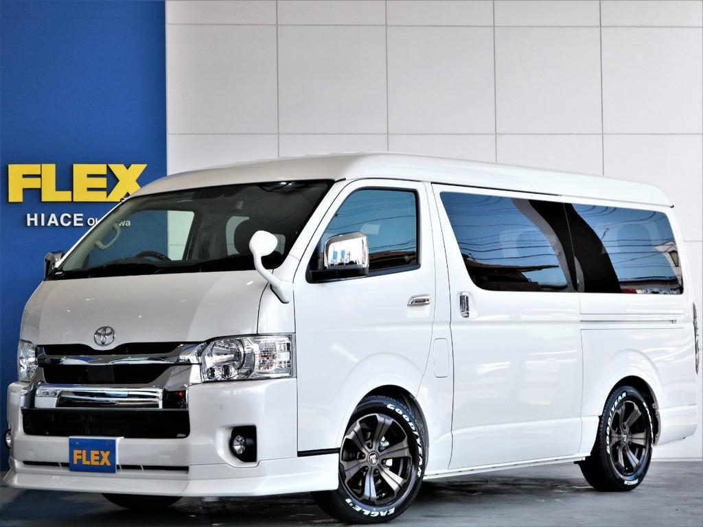 ◎新型新車◎ハイエース ワゴンGL ~バージョンⅡ内装架装車両~ フルフラット&フローリング ファミリーに人気のおすすめパッケージ!!