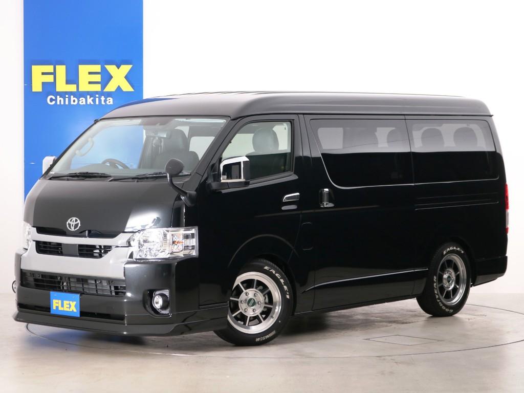 新車未登録 ハイエースワゴンGL 一部改良後 【新型】 ガソリン2WD FLEXオリジナル内装アレンジ【Ver2】!